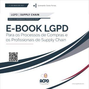 e-Book ACPD - LGPD Para os Processos de Compras e os Profissionais de Supply Chain